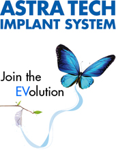 1222490 ASTRA TECH Implant System logo with EV butterfly